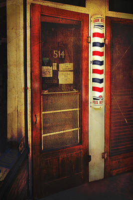Photograph - The Barber Pole by Ann Powell