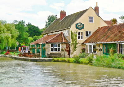 Photograph - The Barge Inn Seend by Paul Gulliver