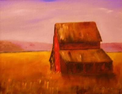 Painting - The Barn by W William Brown Jr