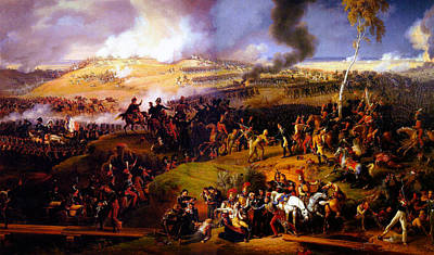Colorful People Abstract - The Battle of Borodino by Celestial Images