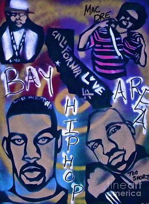 Moral Painting - The Bay Area by Tony B Conscious