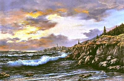 Painting - The Beacon by Lynne Wright