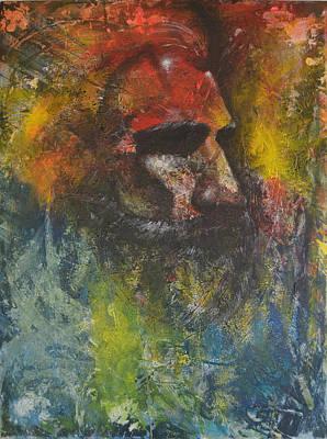 Characteristics Painting - The Beard by Paddi Avalon