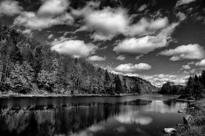 Photograph - Beautiful Bald Mountain Pond by David Patterson