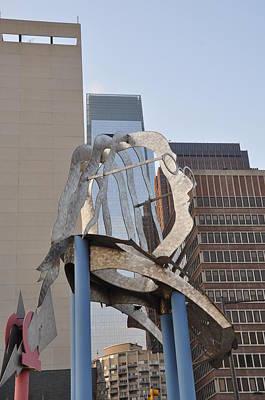 Phillies Digital Art - The Ben Franklin Sculpture by Bill Cannon