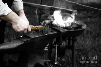 The Blacksmith  Art Print by Steven Digman