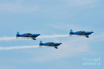 The Blades Aerobatic Team Art Print