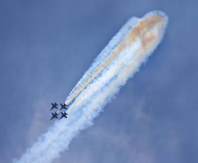 Robert Jensen Photograph - The Blue Angels by Robert Jensen