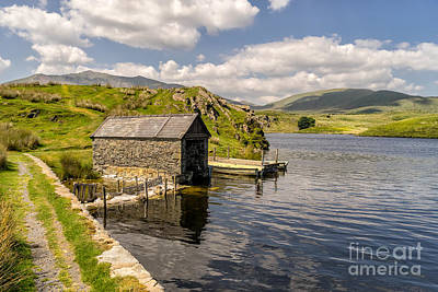House Digital Art - The Boathouse by Adrian Evans