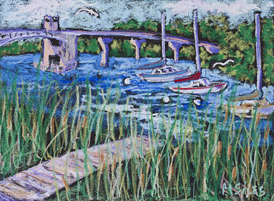 Painting - The Bridge by Madonna Siles