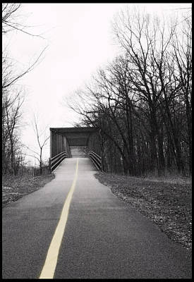 Photograph - The Bridge - 200150 by Tess Tubbs