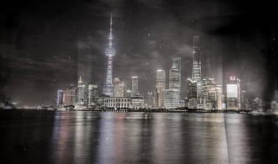 The Economy Digital Art - The Bund  by Robin Cuervo