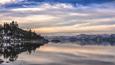 Art Print featuring the photograph The Calm After Dawn by Nancy Marie Ricketts