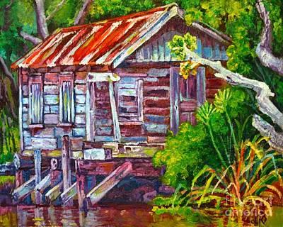 The Camp Bayou Art Print by Lisa Tygier Diamond