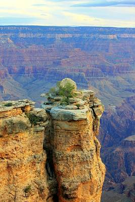 The Canyon Balanced Rock Art Print by Douglas Miller