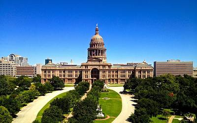 Photograph - The Capital Of Texas In Austin by Kristina Deane