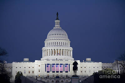 Photograph - The Capitol by Jim West