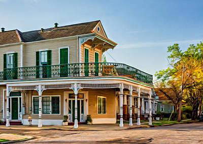 New Orleans Oil Photograph - The Charm Of New Orleans by Steve Harrington