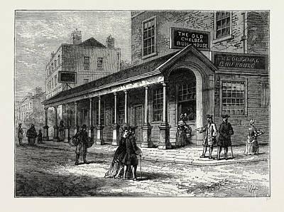 The Chelsea Bun-house Art Print by Litz Collection