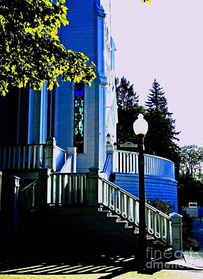 Photograph - The Church Steps by Desiree Paquette
