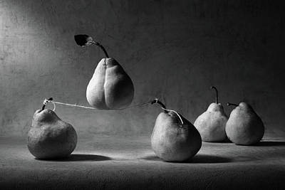 Pear Wall Art - Photograph - The Circus by Victoria Ivanova