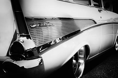 Photograph - The Classic 1957 Chevy by David Patterson
