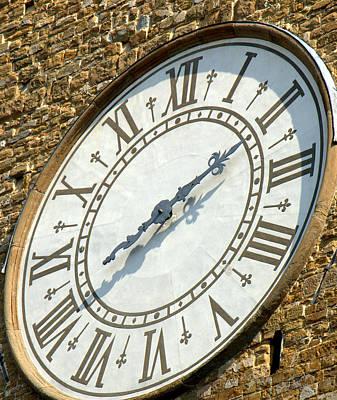 Photograph - The Clock by Caroline Stella