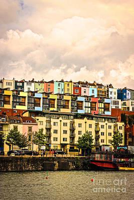 Photograph - The Colour Of Bristol by David Warrington
