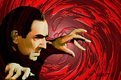 Count Dracula Digital Art - The Count by Brian Dearth