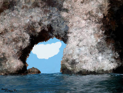 Abstract Male Faces - The Cove by Bruce Nutting