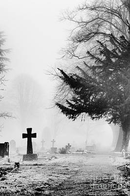 Buried Photograph - The Cross by Tim Gainey