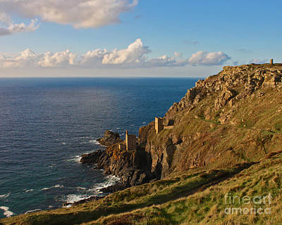Photograph - The Crowns Of Cornwall by Terri Waters