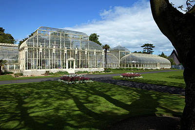 Curvilinear Photograph - The Curvilinear Glasshouses, National by Panoramic Images