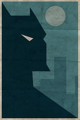 Hero Wall Art - Digital Art - The Dark Knight by Michael Myers