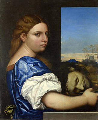 Painting - The Daughter Of Herodias by Sebastiano del Piombo