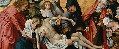 Jesus Christ Digital Art - The Deposition by Rogier van der Weyden