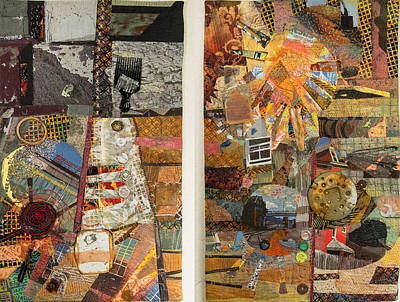 Tapestry - Textile - The Detritus Of Working Class Lives by Martha Ressler