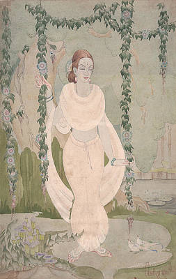Painting - The Divine Beauty by Tulsidas Tilwe