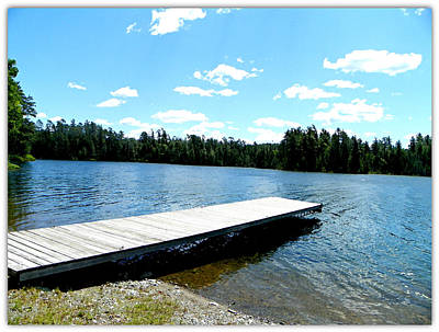 Photograph - The Dock by Dianne  Lacourciere