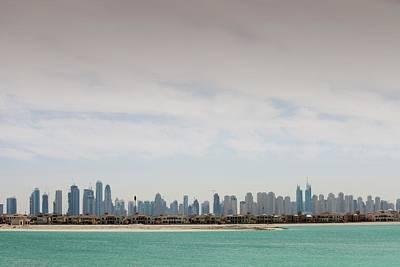 Atlantis Photograph - The Dubai Skyline by Ashley Cooper