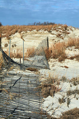 Photograph - The Dunes Of Jones Beach by JC Findley