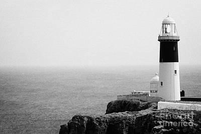 The East Light Lighthouse Altacarry Altacorry Head Rathlin Island Ireland Art Print by Joe Fox