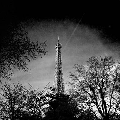Paris Skyline Royalty-Free and Rights-Managed Images - The Eiffel Tower by Vincent Leprince