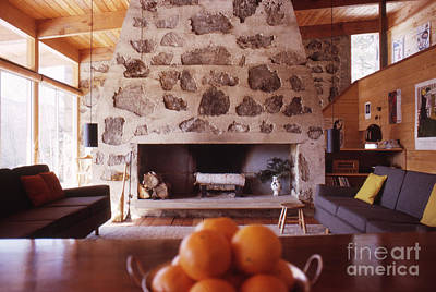 Retro Wall Art - Photograph - The Eliot Noyes Ski Cabin 1964 by The Harrington Collection