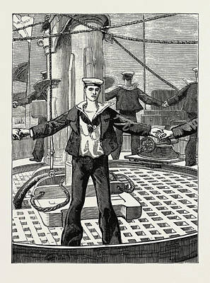 Manning Drawing - The Emperor Of Germany At Spithead, 1889 by Litz Collection