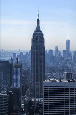 Photograph - The Empire State Building by Dan Sproul