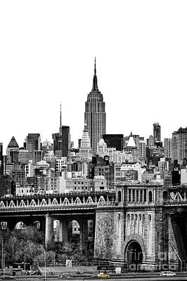 Empire State Photograph - The Empire State Building by John Farnan