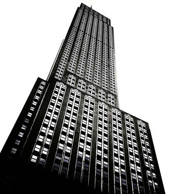 The Empire State Building Art Print by Natasha Marco