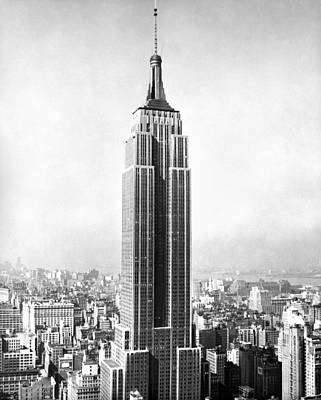 The Empire State Building Art Print