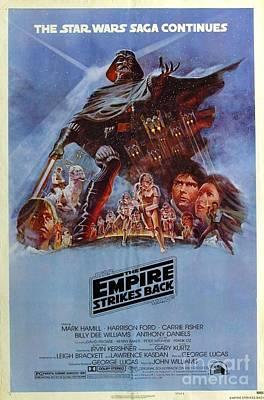 Back Mixed Media - The Empire Strikes Back by Baltzgar